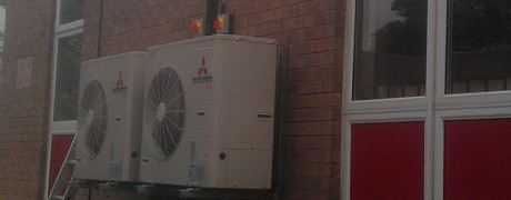 Air Conditioning in School