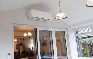 air con conservatory